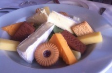 This restaurant totally misunderstood the concept of cheese and biscuits