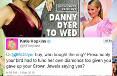 Katie Hopkins and Danny Dyer are having a proper scrap over his engagement, innit
