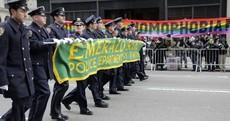 Charlie Flanagan will march in the New York Paddy's Day parade, despite Irish LGBT ban