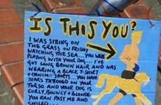 Backpacker reunited with crush after missed connection poster goes viral