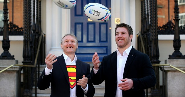 All Blacks call Joe Schmidt Superman... then say Ireland need to temper expectations