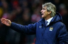 'I am not under pressure' says under-pressure Manuel Pellegrini