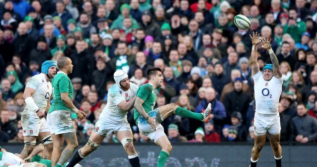 Here's Conor Murray's view on the 'pressure-off' kick that put Sunday's game beyond England