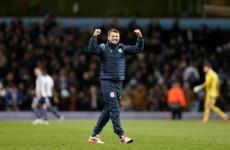 Injury-time penalty hands Sherwood first league win to lift Villa out of drop zone