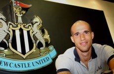 Allez the lads! Obertan signs for Magpies