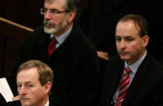 'You'll all be needing healthcare': Taoiseach, Micheál Martin and Gerry Adams got excited in the Dáil