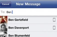 Facebook's latest venture: merging your email with your texts