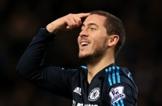 Hazard's header, Sanchez's solo effort - and the rest of tonight's Prem action