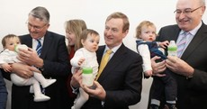 These babies helped Enda Kenny declare 2015 'the year of rural recovery'