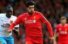 'Emre Can play for any club in the world' - Brendan Rodgers