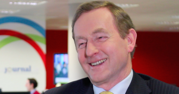 WATCH: Enda on changing his mind, not taking himself seriously and running for president...
