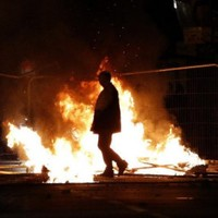 Violence and arrests as UK riots continue overnight