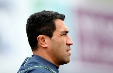 Muliaina back as Connacht make just three changes on five-day turnaround