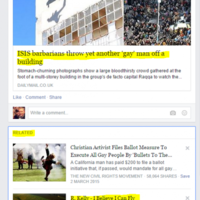 Facebook's 'related' algorithm made quite a serious slip up today