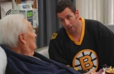 The price is wrong, bitch! Happy Gilmore and Bob Barker recreate their classic fight