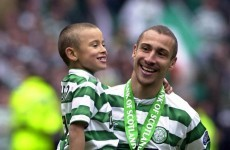 Who will be the next Henrik Larsson? If this cracker's anything to go by then probably his son