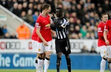 Jonny Evans and Papiss Cisse could be in a lot of trouble after spitgate