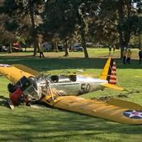 Harrison Ford 'battered but ok' after plane he was flying crash-landed