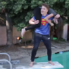 This video of WWE moves into a swimming pool will make your Friday