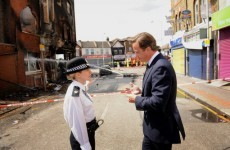 Tough words from PM David Cameron to rioters
