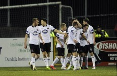 Late heroics from Rogers needed as rusty Dundalk hold out for 3 points