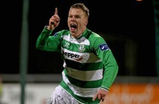 North nets against his former club to give Shamrock Rovers a winning start