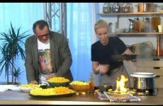 TV host manages to set crisps on fire, is definitely a worse cook than you