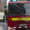 Two people being treated for injuries after fire in Dun Laoghaire