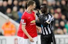 FA slap 7-match spitting ban on Cisse, Evans gets 6 games