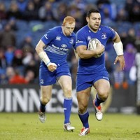 Ben Te'o picked a perfect line to score his first Leinster try