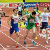 One of Ireland's brightest track prospects is one race away from another European medal