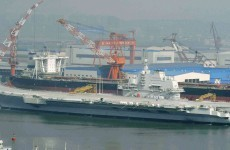 China tests first aircraft carrier as Taiwan unveils an 'aircraft carrier killer'