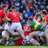 Five first-half goals but Cork celebrate at finish with 11-point win over Kerry