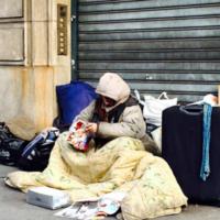 Vogue editor taken to task over 'tasteless' Instagram of homeless person