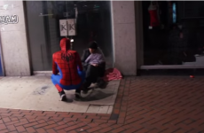 Take a break and meet a real-life Spiderman