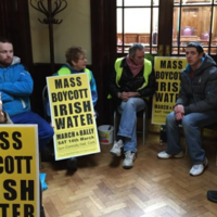 Council meeting called off AGAIN as protester refuses to leave chamber