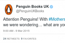 Penguin started a #YourMum hashtag for Mother's Day but it backfired horribly