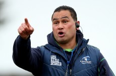 Pat Lam's in a bit of trouble after his explosive comments about Friday's touch judge