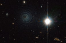 Amazing picture of star spiral