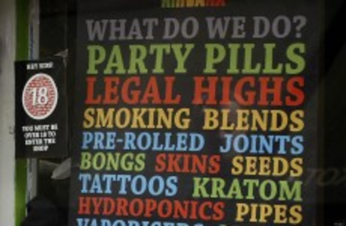 Loophole means ecstasy and loads of other drugs are now