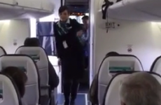 Watch a flight attendant do a cringey dance to Uptown Funk to entertain passengers