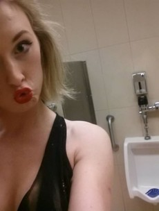 This transgender woman is protesting by taking selfies in men's toilets. Here's why...