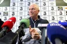 Trapattoni hints Ward may start Slovakia clash
