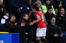 Falcao misfires again... for Manchester United's U21s