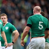 Paul O'Connell getting better as the years go on, he scares me -- Sean Cronin