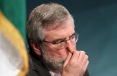 'Gerry Adams needs to get real': Enda and Joan pile pressure on Sinn Féin president
