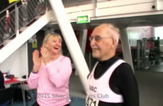 Watch this 95-year-old man smash a 200m sprint record