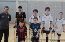 Boy finds 'group he belongs to' in amputee football team after losing leg in accident aged 5