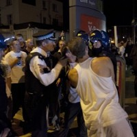 London police raid houses over riots
