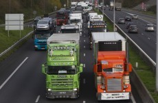 Truck drivers given new minimum wage in Germany - even if they're just passing through
